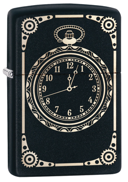 Zippo original Sturmfeuerzeug All Over Clock