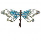Wanddekoration Libelle-Mosaik