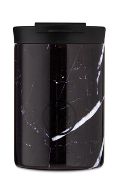 "24 Travel Tumbler ""Black Marble"" 350ml"