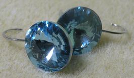 Ohrhänger 12 mm Light Sapphire