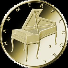 "50€-Goldmünze 2019 ""Hammerflügel"" - Serie ""Musikinstrumente"""