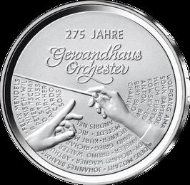 """20-Euro-Silbermünze """"275 Jahre Gewandhausorchester"""" Stempelglanz"""