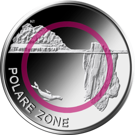 """5 Euro Münze 2021 """"POLARE ZONE"""" Stempelglanz"""