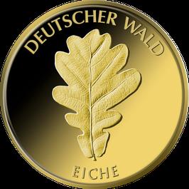 """20€-Goldmünze 2010 """"Eiche"""" - Serie """"Deutscher Wald"""""""