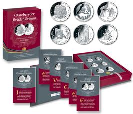 """Münzsammelbuch """"Grimms Märchen"""""""