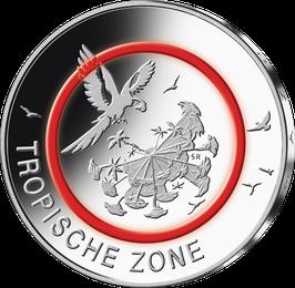 """5-Euro-Münze """"Tropische Zone"""" Stempelglanz"""
