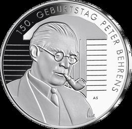 """20-Euro-Silbermünze 2019 """"150. Geburtstag Peter Behrens"""" Spiegelglanz"""