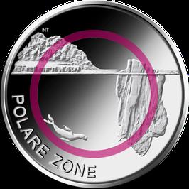 "5 Euro Münze 2021 ""POLARE ZONE"" Spiegelglanz"