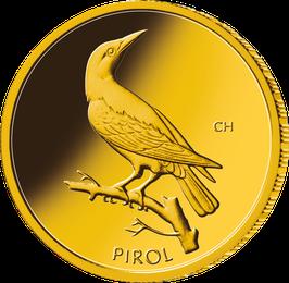"""20€-Goldmünze 2017 """"Pirol"""" - Serie """"Heimische Vögel"""""""