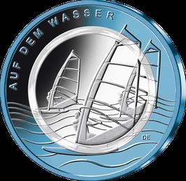 """10-Euro-Münze 2021 """"Auf dem Wasser"""" Spiegelglanz"""