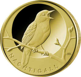 "20€-Goldmünze 2016 ""Nachtigall"""