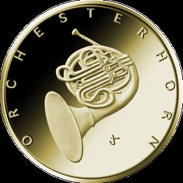 """50€-Goldmünze 2020 """"Orchesterhorn"""" - Serie """"Musikinstrumente"""""""