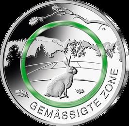 """5€-Münze """"Gemässigte Zone"""" Spiegelglanz"""