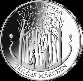 """20-Euro-Silbermünze """"Rotkäppchen"""" Spiegelglanz"""