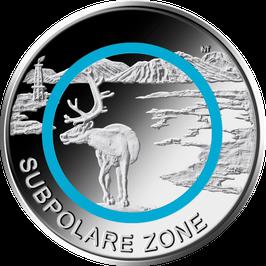"""5€-Münze 2020 """"Subpolare Zone"""" Spiegelglanz"""