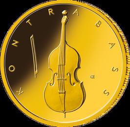"50€-Goldmünze 2018 ""Kontrabass"" - Serie ""Musikinstrumente"""