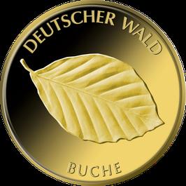 """20€-Goldmünze 2011 """"Buche"""" - Serie """"Deutscher Wald"""""""