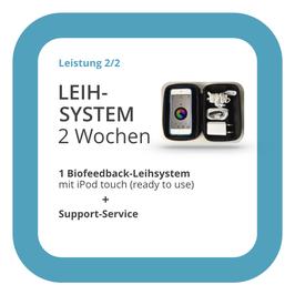Leihsystem: HRV-Biofeedback-System mit iPod touch, 2 Wochen