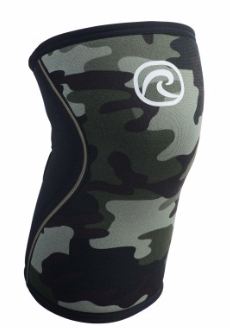 REHBAND RX KNEE SLEEVE 7MM CAMO (PAIRE)