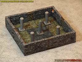 Modular Dungeon: PILLARS-ROOM