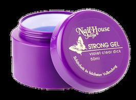 exklusiv | strong gel violett | für problematische nägel