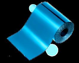 NEU! | glanzfolie | maritimblau 100 cm x 6 cm