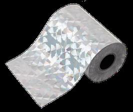glanzfolie silber | rainbow hologramm