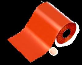 NEU! | cracklefolie | matt orangerot 100 cm x 6 cm