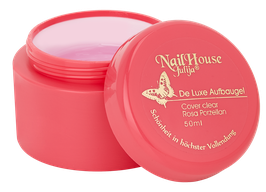NEU! | aufbau gel | de luxe cover clear rosa porzellan