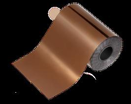NEU! | glanzfolie | kupfer 100 cm x 6 cm