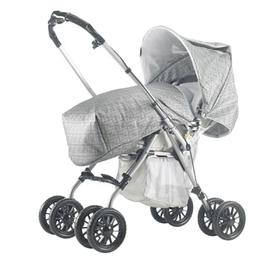 Passeggino Fendi-Aprica grigio argento