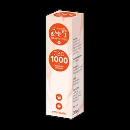 CBD-Öl 1000mg - 30ml