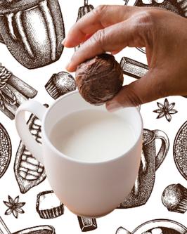 """Boule à chocolat chaud/froid """"Tout Cacao"""" au sel rose"""