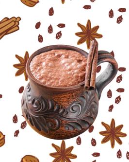 Mélange à chocolat chaud aux épices caramélisées