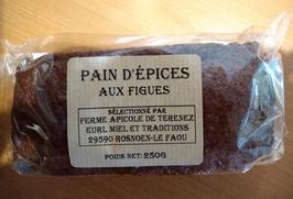 Pain d'épices aux figues