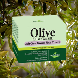 Herbolive 24h Gezichtscrème - Olive Oil & Oat Silk
