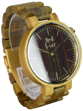 #STONEWATCH tiger eye // 42mm