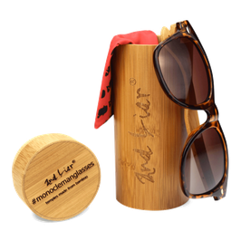 #MONOCLEMANGLASSES bamboo // golden brown