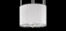 Berbel BDL 60 SKR Deckenlifthaube Skyline Round in Weiss- oder Weissglas mit Liftfunktion