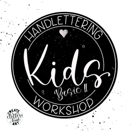 Workshop - Handlettering für Kids - Basic II