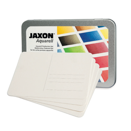 Jaxon Aquarell-Postkarten in Metallbox