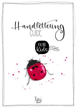 Handlettering-Guide für KIDS - Download