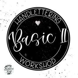 """Workshop Handlettering """"Basic II"""" - Die Fortführung"""