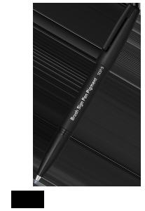 Pentel Sign Pen Brush PIGMENT, schwarz