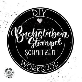 """Workshop """"Buchstaben-Stempel schnitzen"""""""