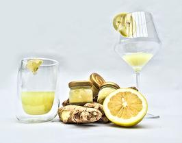 Bio Ingwer-Zitrone Rohsaft