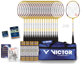 "Badminton-Schulsportpaket ""Victor®"" 1"