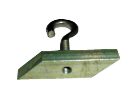 Alu-Mutterstück (Rhombusform)