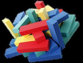 Block X - Schaumstoffklötze