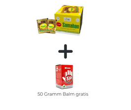Samahan Tee - 250 Beutel Box + (Samahan Balm Vorratsdose 50 Gramm Gratis dazu)